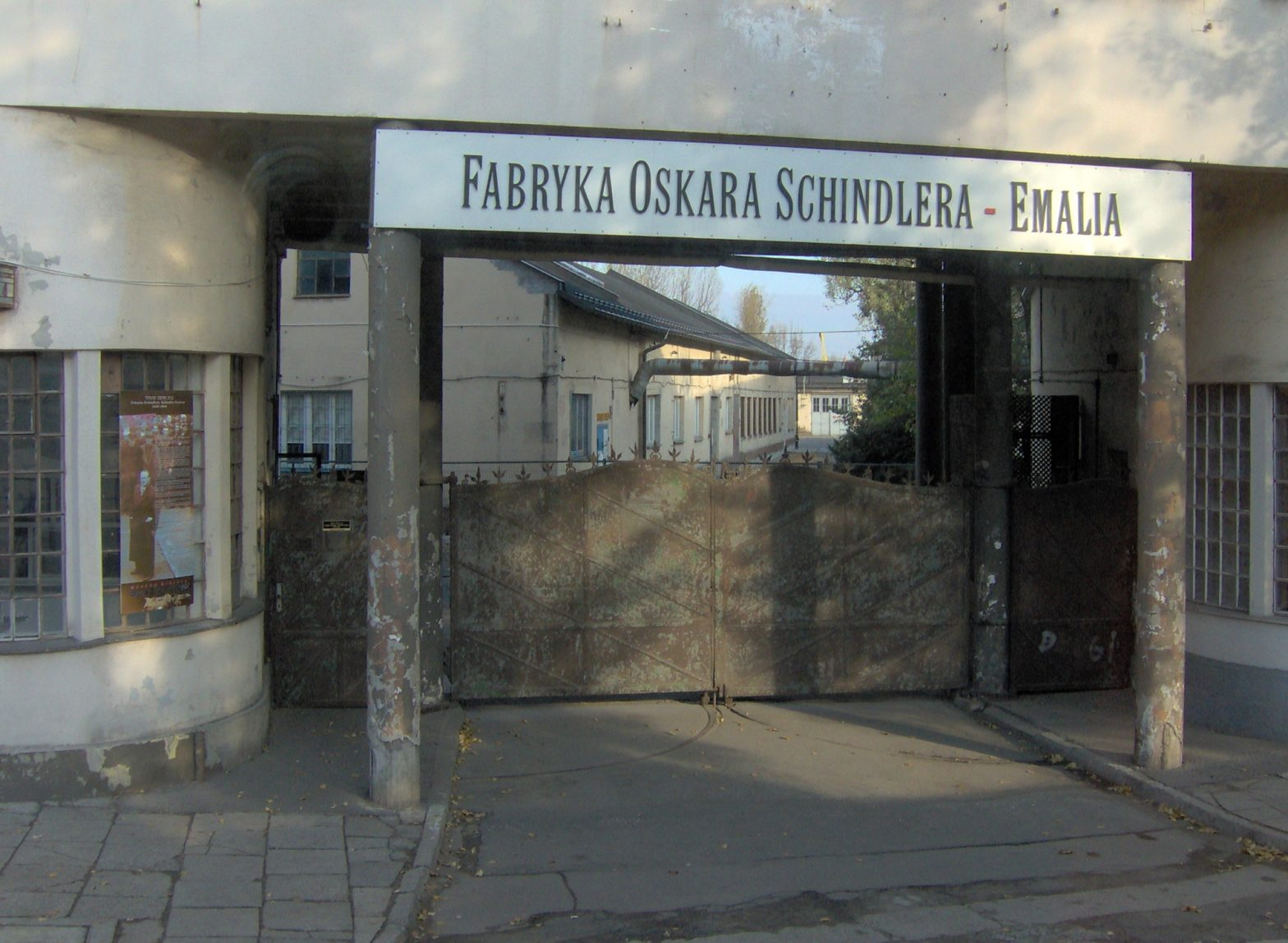 Fábrika de Oskar Schindler en Cracovia - Foto By I, Noaa.