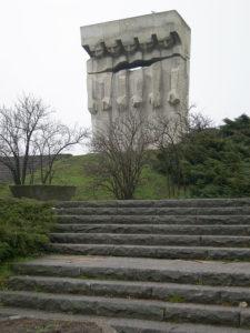 Monumento en Plaszow - foto Jacques Lahitte